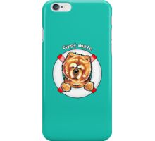 Chow Chow :: First Mate iPhone Case/Skin