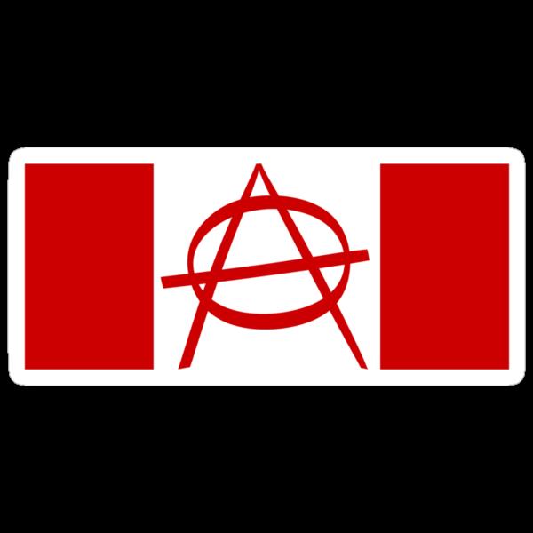 Robin Daggers Canada Anarchy Flag by waywardtees