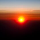 Airplane Sunset by kgallant