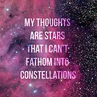 My Thoughts Are Stars by dejafeutre