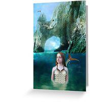 Young Mermaid Greeting Card