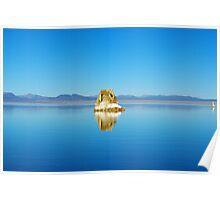 Tufa island, Mono Lake, California Poster
