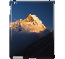 Machhupuchhare, Annapurna Conservation Area, Nepal. iPad Case/Skin
