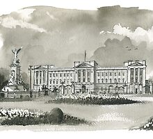 Buckingham Palace by wiscan