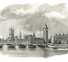 Big Ben / Houses of Parliament by wiscan