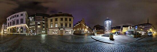 Old Riga panorama, Riga, Latvia by paulsrphoto