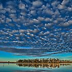 Clouds over the lake by PeterCannon