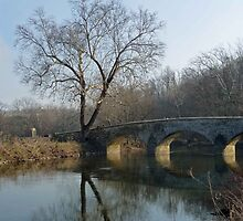 Burnside Bridge - Antietam Battlefield Park, Sharpsburg MD by Bine