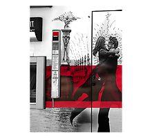 Artistic Grafitti in Paris Photographic Print