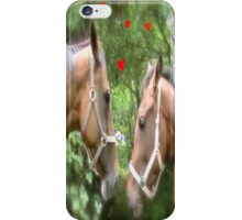 HORSE CODE  iPhone Case/Skin