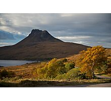 Stack Polly, Sutherland National Park, Scotland. Photographic Print