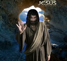 Jesus: Believe and be healed (iPad Case) by Angelicus