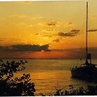 Sunset - The Saltlaker Inn by Marilyn Grimble