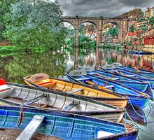Knaresborough Rowing Boats - HDR by Colin  Williams Photography