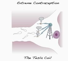 Extreme Contraception: The Tesla Coil T-Shirt