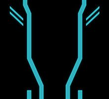 Tron Phone Case by SwordStruck