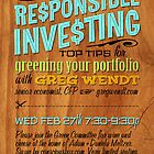 Responsible Investing: Green Your Portfolio by Luke Massman-Johnson