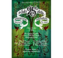 The Oaks School 25th Anniversary Poster Photographic Print