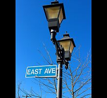 Street Light On The Corner Of East Avenue And East Main Street - Riverhead, New York by © Sophie W. Smith