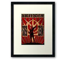 Sieg Zeon Framed Print