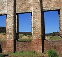Windows to the Past-Lithgow Blastfurnace by ©Josephine Caruana