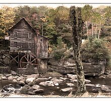 ACROSS THE CREEK AT GLADES MILL by Randy & Kay Branham