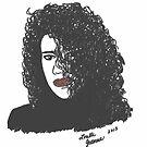 Self Portrait by Lorelle Gromus