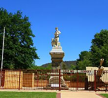 Lest We Forget Queen Elizabeth Park Lithgow by ©Josephine Caruana