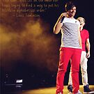 Louis Tomlinson Niall Horan One Direction Quote by meow-or-never10