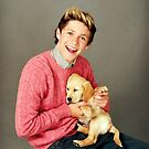 Niall Horan One Direction Puppy by meow-or-never10