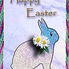 Happy Easter Bunny Rabbit by jkartlife