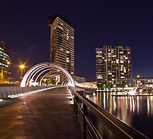 Webb Bridge, Docklands. by dsi-photography