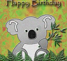Happy Birthday Koala Bear by jkartlife