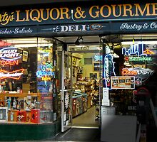Marty's Liquor & Gourmet Deli by David Denny