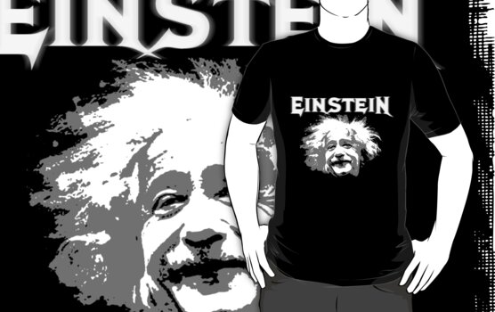 Einstein - Metallica Font by portiswood