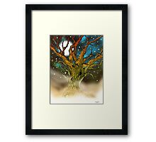 Astral Tree Framed Print