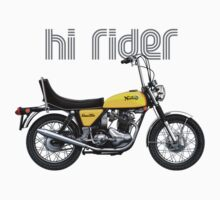 Norton Commando Hi-Rider by Tony  Newland