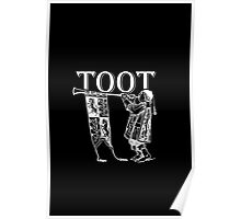 Funky Trumpeter Wanna Give it Some! TOOT! Poster