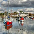 Hill Head Harbour by David Tinsley