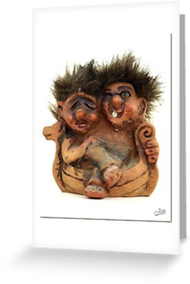 Twin Troll by Janone