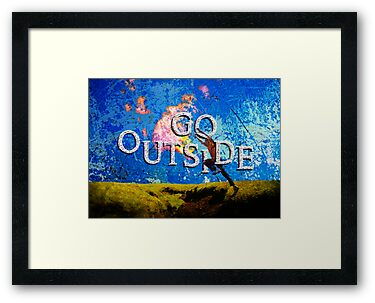 Go Outside by wo0ze