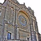Saint Luzia's Basilica - Rear view perspective by João Figueiredo