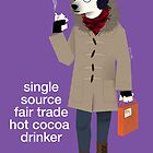 Hot Cocoa Bear by Dyna Moe