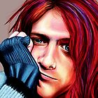 Kurt Cobain by MSRowe Art and Design