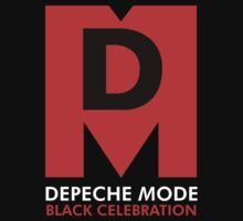 Depeche Mode : Black Celebration Logo by Luc Lambert