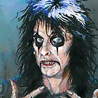 Alice Cooper - Fangoria cover art 307 by Ashley Thorpe