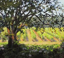 Vineyard paintings by Karen Ilari by Karen Ilari