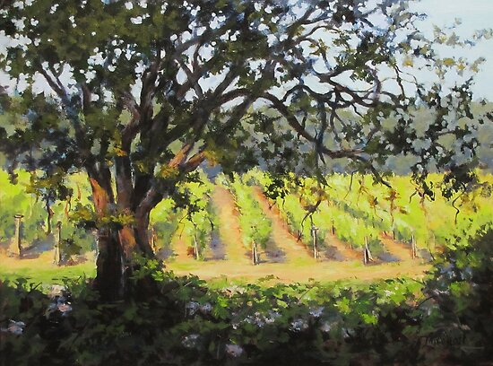 Vineyard's Edge by Karen Ilari