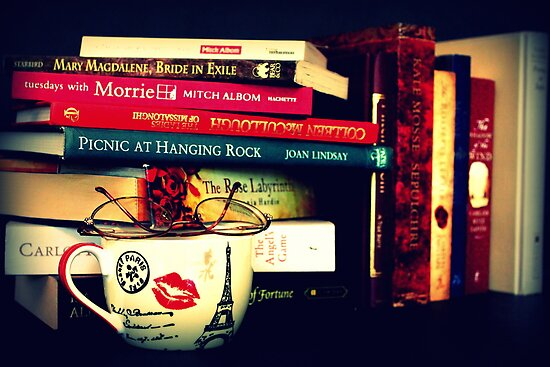 Books And Tea  by Evita