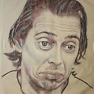 steve buscemi 1, by rainer hosch by Peter Brandt